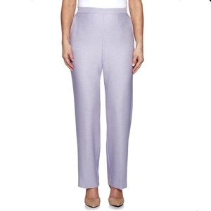 Alfred Dunner Classic Fit Trousers Shorter Length